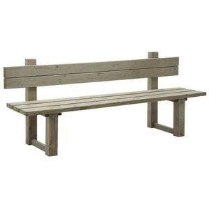 Banc de jardin en bois traite autoclave pour l\'exterieur - Achat ...