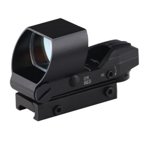 e80c915c45 BIJIA Red dot 20mm Rail Riflescope Chasse Optique Portée Tactique  HolographicMro Sight Reflex