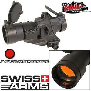 JUMELLE OPTIQUE Viseur Red Dot Sight Modèle Militaire Swiss Arms -