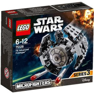 ASSEMBLAGE CONSTRUCTION LEGO® Star Wars™ 75128 Tie Advanced Prototype™