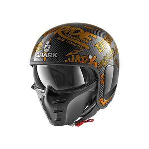 CASQUE MOTO SCOOTER SHARK Casque moto jet S DRAK Freestyle Cup - Noir
