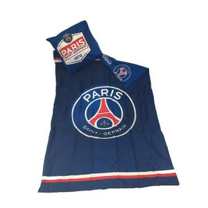 HOUSSE DE COUETTE ET TAIES Parure de Lit  - PSG - Paris St Germain - Foot - H