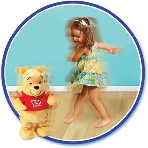 PELUCHE WINNIE L'OURSON Danse Avec Winnie !