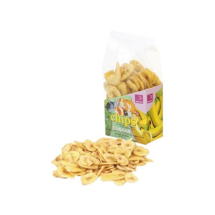 ESVE Chips banane pour petits animaux 150g