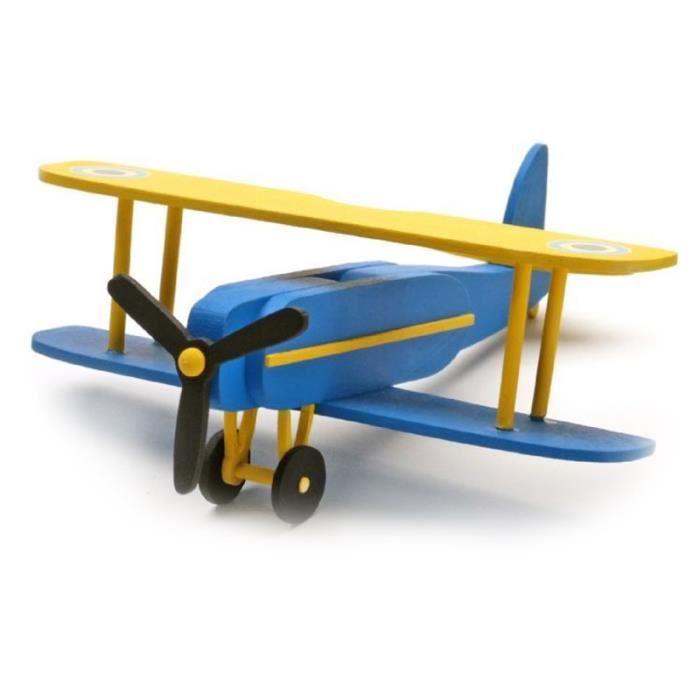 kit maquette avion bois achat vente jeux et jouets pas chers. Black Bedroom Furniture Sets. Home Design Ideas