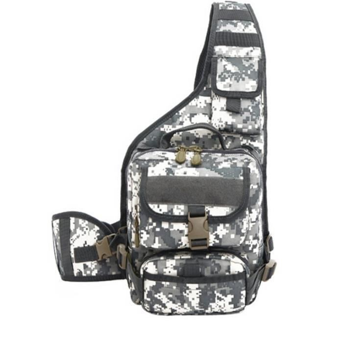 Demeuble-3356 35L Sacs de sport de loisirs étanches Sacs à main dorigine tactique Sacs 3P épaule Sac camouflage
