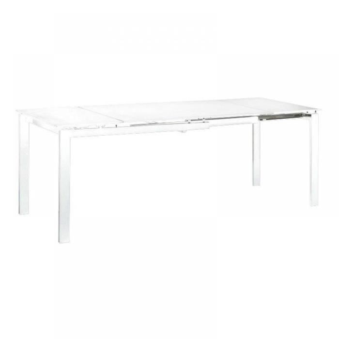Table repas extensible FLY blanche - Achat / Vente table à manger ...