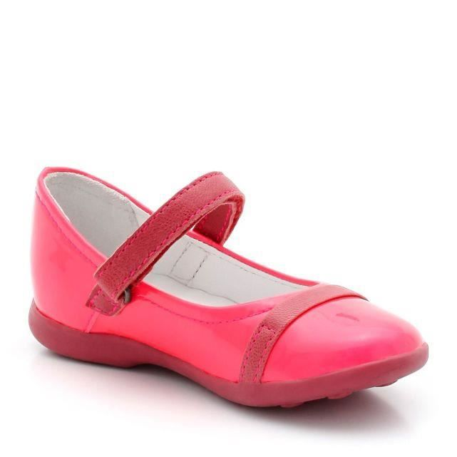 6a6e39db15d64 BALLERINE Chaussures Ballerines KICKERS modèle Arcadia. CHAUSSURES KICKERS  BABIES ROSE FLUO.