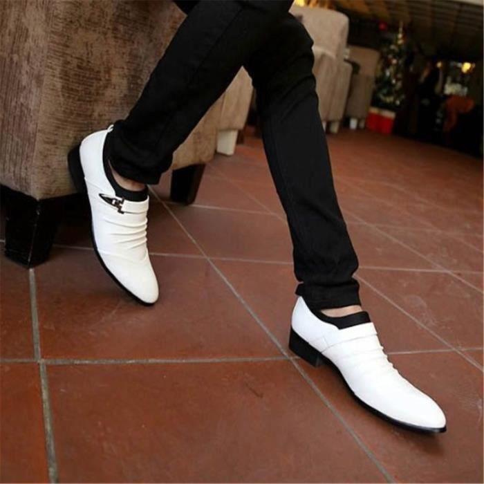 chaussure homme cuir blanc,chaussure homme de casual en cuir