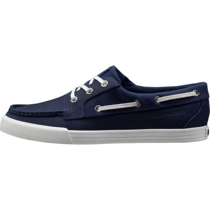 FRAMNES 2 bleu marine-blanc cassé - Chaussures bateau homme HELLY HANSENBLEU MARINE-BLANC CASSÉ