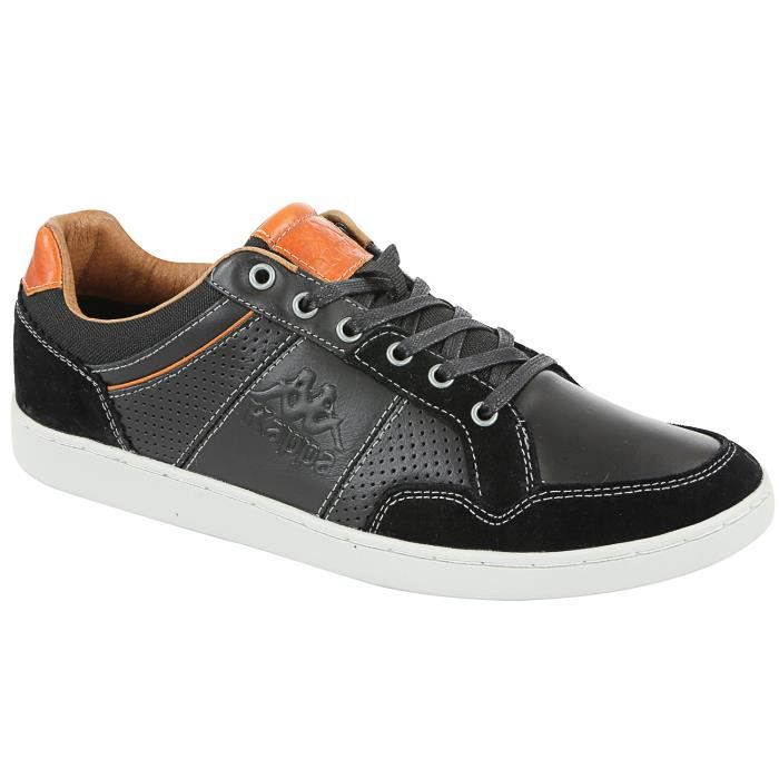 Kappa Syringae Chaussure Homme Noir Taille 39:
