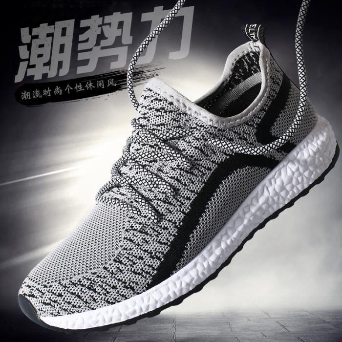 Basket Chaussures de sport pour hommes Chaussures de course légère I0IR7NfP2