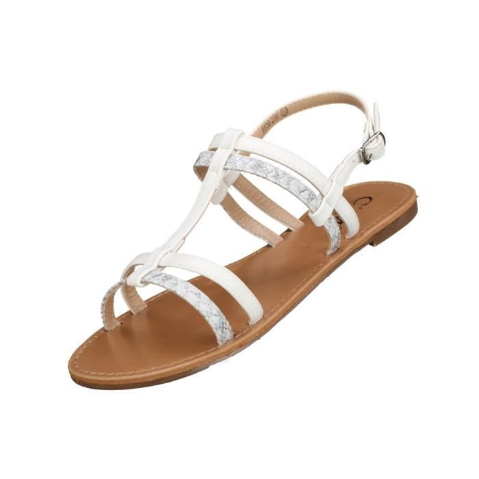 Sandales femme C M 8839-235 White