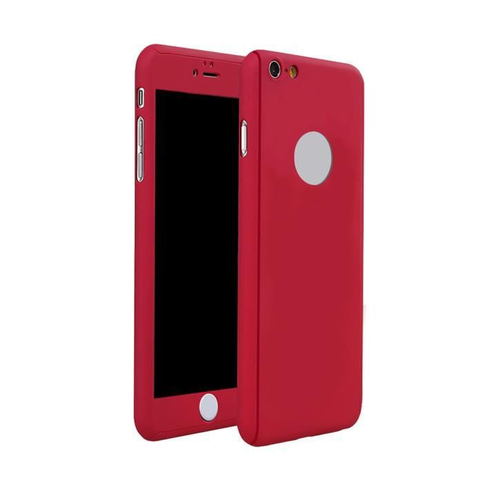 coque iphone 6 360 rouge