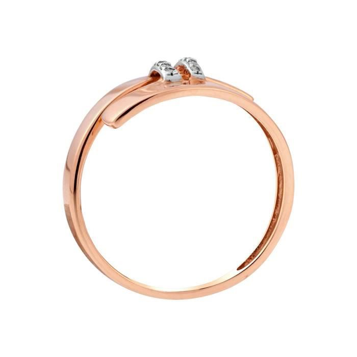 Bague CLEOR Or 375-1000 Diamant - Z0149196-54