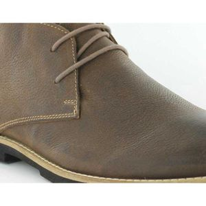 FRANCK Brown Pointure Chaussures 45 WRIGHT Totton leather Homme Montante 6qxwB