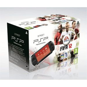 CONSOLE PSP PACK PSP STREET + FIFA 12