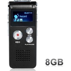 DICTAPHONE - MAGNETO. ANTCOOL(R) Enregistreur vocal 8GB Mini USB dictaph