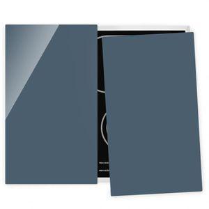 PLAQUE INDUCTION Couvre plaque de cuisson - Slate Blue - 52x60cm, p