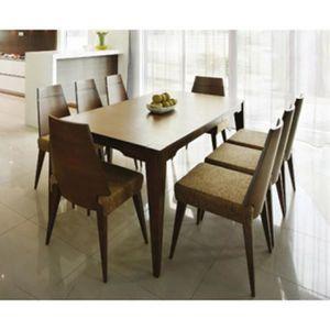 ensemble table manger et 6 chaises en bois