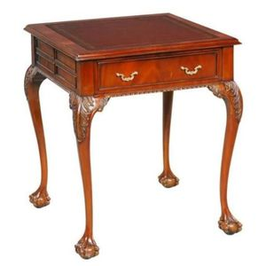 TABLE D'APPOINT Casa Padrino Table d'Appoint Baroque en Acajou de