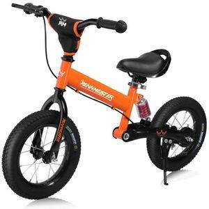 DRAISIENNE Vélo draisienne pour Enfants Orange Rennmeister sa