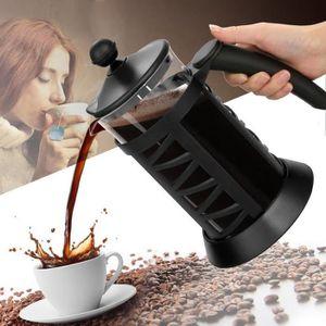 CAFETIÈRE - THÉIÈRE Cafetière presse café 1L Carafe en verre résistant