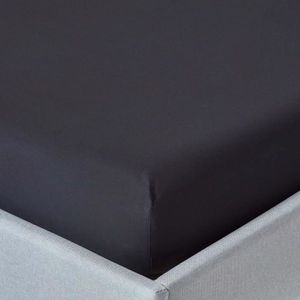 drap housse noir Draps noirs coton egyptien   Achat / Vente pas cher drap housse noir