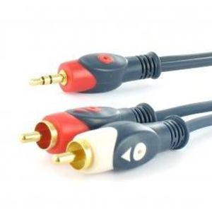 CÂBLE TV - VIDÉO - SON Câble adaptateur audio stéréo Rca vers Jack cd3129