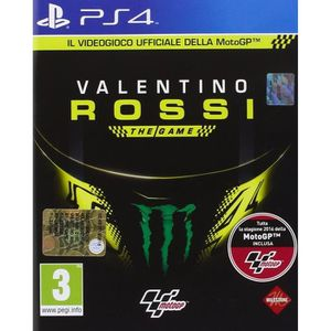 JEU PS4 Playstation 4 Valentino Rossi The Game