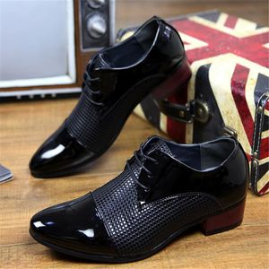 MOCASSIN Chaussure Homme respirants petits pointus cuir