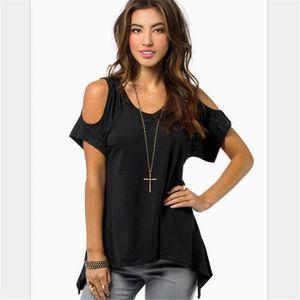 T-SHIRT jlyf027 T Shirt femme XXXXXL noir