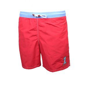 MAILLOT DE BAIN Short de bain Hackett One rouge et bleu pour homme 96cfc159c77
