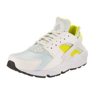 BASKET Nike wmns air femme huarache run, voile - bleu gla