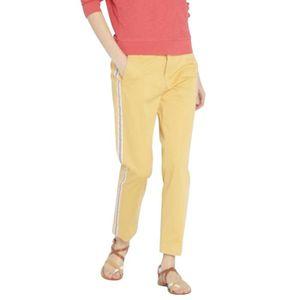 PANTALON Pantalon chino bande côté THE