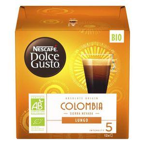 CAFÉ - CHICORÉE Nestle Nescafé Lungo Dolce Gusto Colombia, Capsule