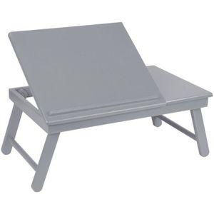 SUPPORT PC ET TABLETTE Plateau Pliable Pour Ordinateur Table d'Appoint Ré