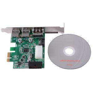 CARTE GRAPHIQUE INTERNE XCSOURCE Carte d'Extension PCI-E vers 2-Port USB 3