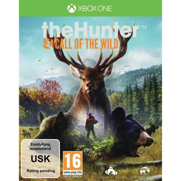 The Hunter Call of The Wild Jeu Xbox One
