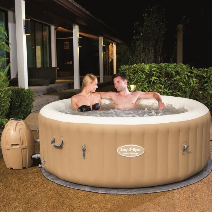 3b2d2e63c00f2a BESTWAY Spa rond gonflable Palm Springs 6 places 196x71cm - Achat ...