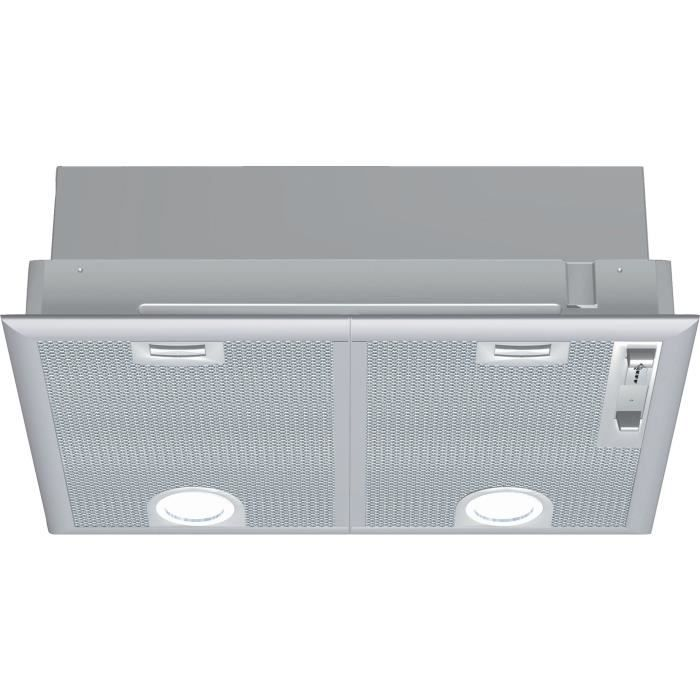 NEFF D5655X1 - Groupe filtrant - Evacuation ou recyclage - 2 moteurs - 56 dB max - 618 m3 air / h - Inox