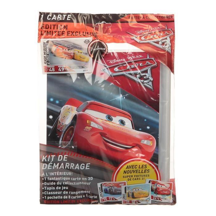 Kit de démarrage Cars 3 - Mixte