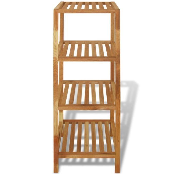 etagere bois salle de bain - achat / vente etagere bois salle de