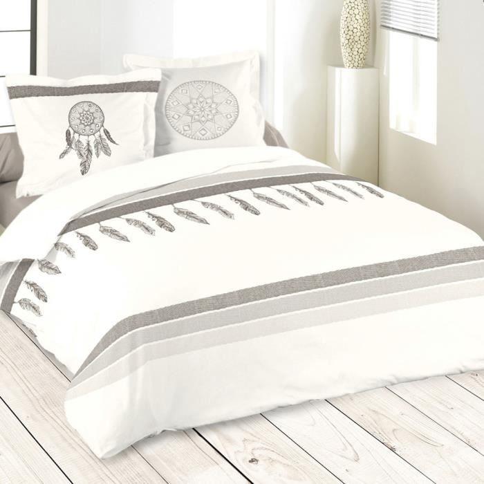 parure de lit apache 260 x 240 cm - achat / vente parure de