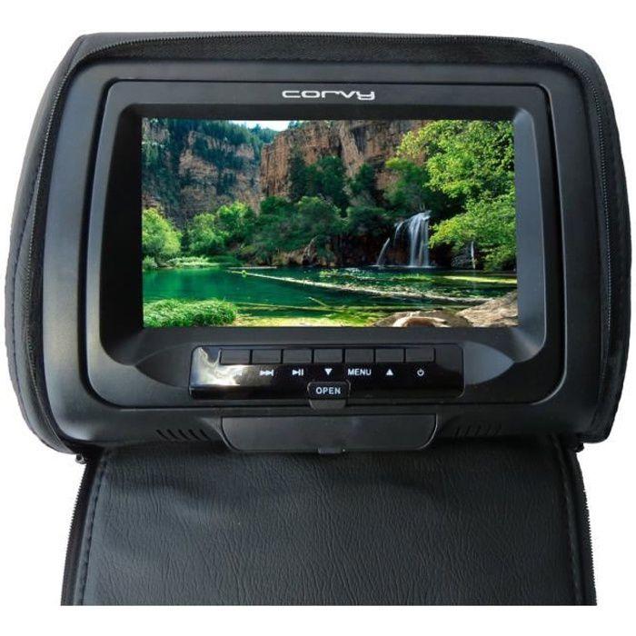 appui tete dvd ecran 7 39 39 lecteur dvd portable avis et prix pas cher cdiscount. Black Bedroom Furniture Sets. Home Design Ideas