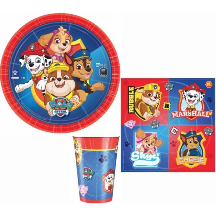 Mgs33 Kit XL Foot Kit de décoration de Football Anniversaire, 77 pièces  pour Enfants de Anniversaire garçon et Fille et Le Football