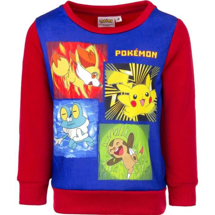 new product 9af69 63c63 pull-pokemon-sweat-pikachu-taille-4-ans-rouge.jpg
