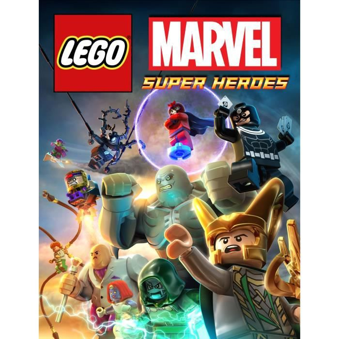 lego marvel superheroes ps4 import anglais achat vente jeu ps4 lego marvel superheroes. Black Bedroom Furniture Sets. Home Design Ideas