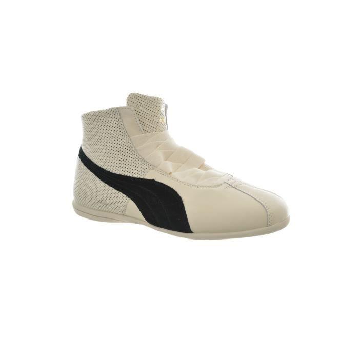 Basket -mode - Sneakers PUMA Eskiva Mid Ecru