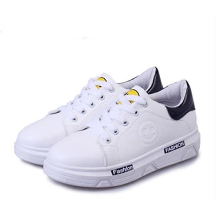 Baskets Femme Chaussures de blanches Top-1